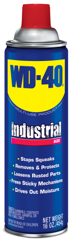 WD-40<sub>&#x000AE;</sub> Multi-use Product Industrial Size <nobr>16 oz</nobr>